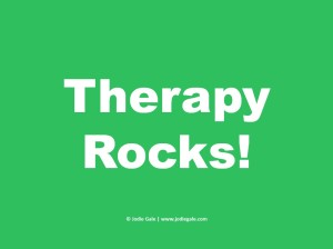 Therapy Rocks Green