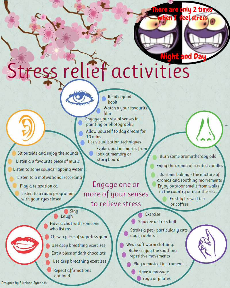 30 Ways to Relieve Stress Using the Senses | Jodie Gale
