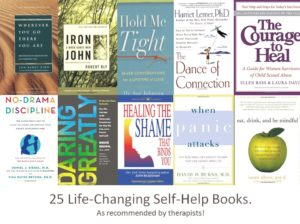 25 life changing self help books
