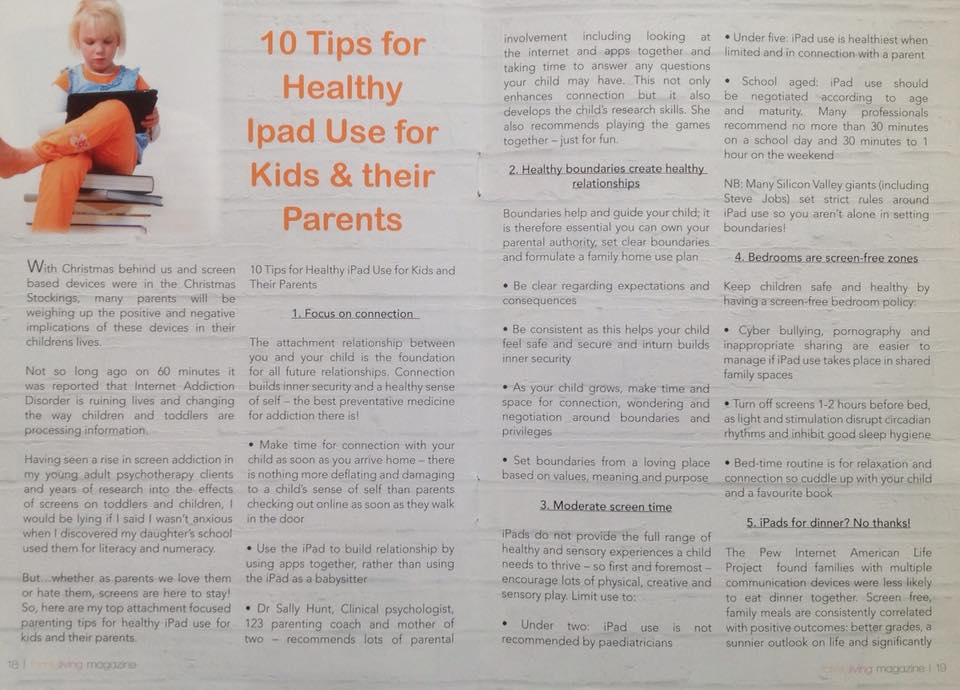 How To Help Kids Manage Sleep >> 10 Tips For Healthy Ipad Use For Kids And Their Parents