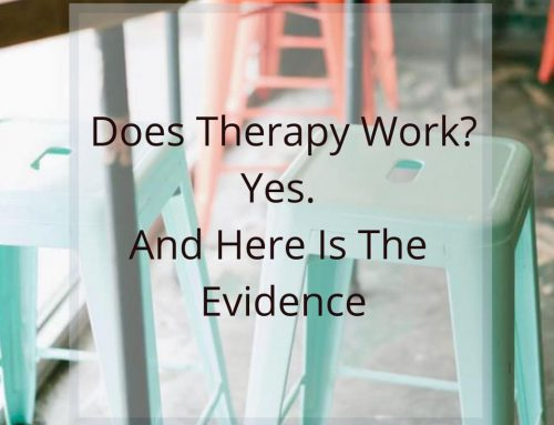 Does Therapy Work? Yes. And Here is The Evidence.