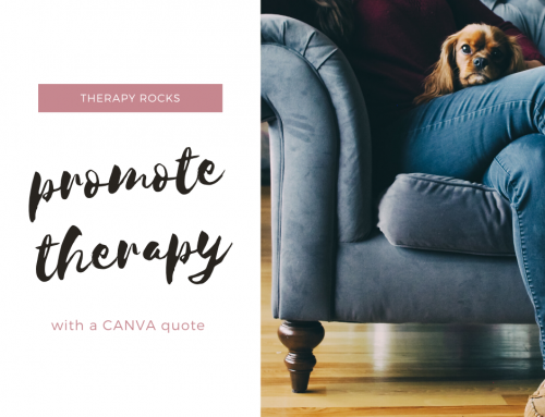 FAO Therapists: Join the Therapy Quotes CANVA Challenge