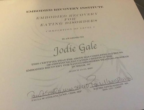 Embodied Eating Disorder Recovery
